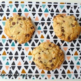 Chocolate Chip Cookies Mit Ol Statt Butter Lebensmittel Essen Chocolate Chip Cookies Glutenfreie Cookies