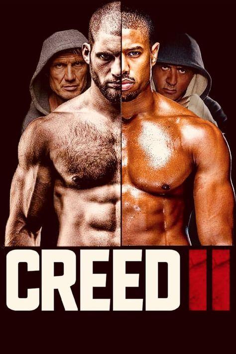 "Jordan Film Print 24x36/"" 27x40/"" Creed II 2 Movie Poster Rocky Balboa Michael B"