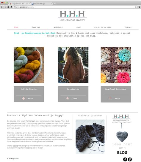 H.H.H | Hip Handig Happy | Handmade Croche and Knitwear