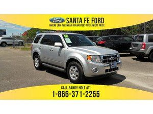 2012 Ingot Silver Metallic Ford Escape Limited 37007s Ford