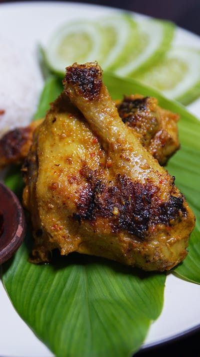 Ayam Panggang Minang Resep Resep Resep Masakan Thai Ide Makanan Ayam Panggang