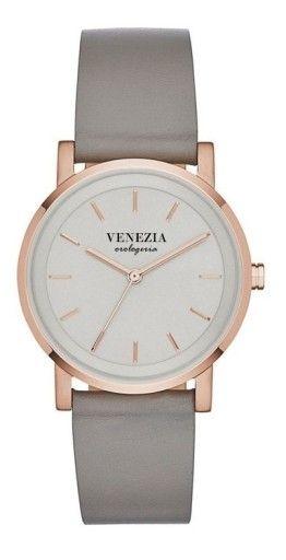 Damski Zegarek Venezia Simple Grigio Skora Natural 6552005714 Oficjalne Archiwum Allegro Dkny Fashion Watches Watches Jewelry