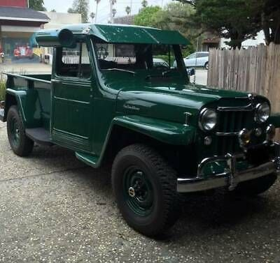 Classic Jeeps For Sale >> 1955 Willys Pickup Old Trucks For Sale Vintage Classic