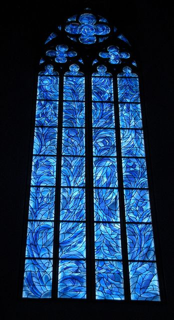 Marc Chagall windows at St Stephens II by ktylerconk. Stained Glass Church, Stained Glass Art, Stained Glass Windows, Mosaic Glass, Chagall Windows, Amoled Wallpapers, Church Windows, Marc Chagall, Leaded Glass