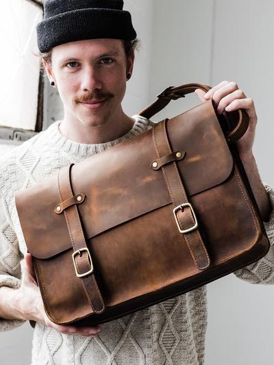 Weekend Bag Leather Mens Bag Handbag for Men Crossbody Bag Shoulder Bag Men Messenger Bag Personalized Bag Duffel Bag Adjustable Hipster