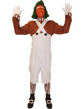 Oompa Loompa and Wig Costume  @Sarah Chintomby Squires