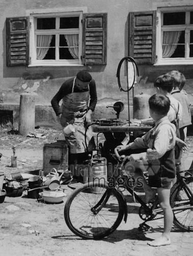 Kesselflicker In Munchen 50er Jahre Stohr Timeline Images