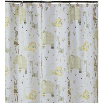 Shower Curtains Rods Extra Long Shower Curtains Jcpenney