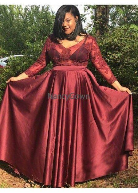 8b295ba47764 NancyGown Plus Size Prom Evening Dress T801524705016