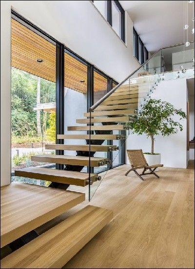 14 Flottant Escalier Design Idées | Decoration Interieure ...