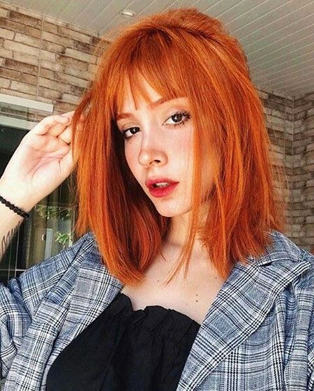 28 Amazing Short Hair Color For Red Hair Fashionre Hair Styles Short Red Hair Short Hair Styles