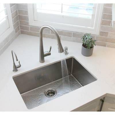 Standart Pro 26 L X 18 W Undermount Kitchen Sink Undermount Kitchen Sinks Kitchen Sink Corner Sink Kitchen