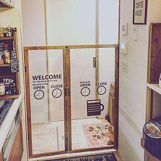 バス トイレ 2 4 カフェ風インテリア Instagram始めました Ig Yokkochan0225 などのインテリア実例 2017 10 20 00 02 47 Roomclip ルームクリップ インテリア アクリル板 ドアステッカー