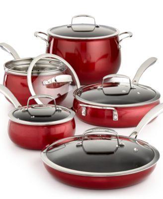Belgique Aluminum 11 Pc Cookware Set Cookware Set Cookware Cast Iron Cookware