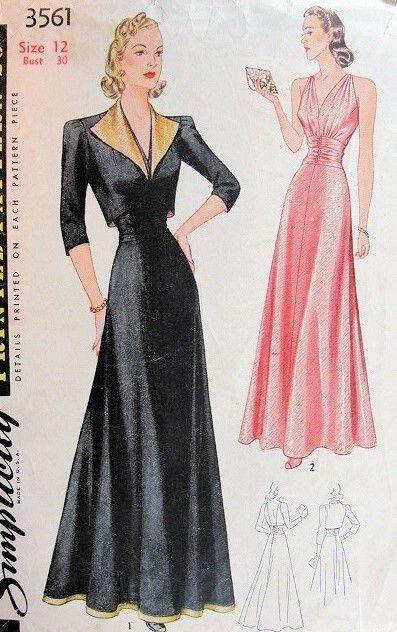 Copy this Dita look with Vogue Special Design 4416  Evening ...