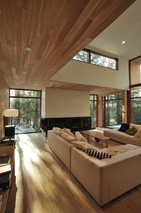 la Maison dans la forêt près du lac — Atelier Pierre Thibault