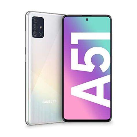 Samsung Galaxy A51 Smartphone Display 6 5 Super Amoled 4 Cameras Rear 128 Gb Expandable Ram 4 Gb Samsung Samsung Phone Cases Samsung Galaxy