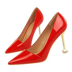 Pointed Toe Women Pumps Leather Office/&Career Women Shoess Shoes Lady