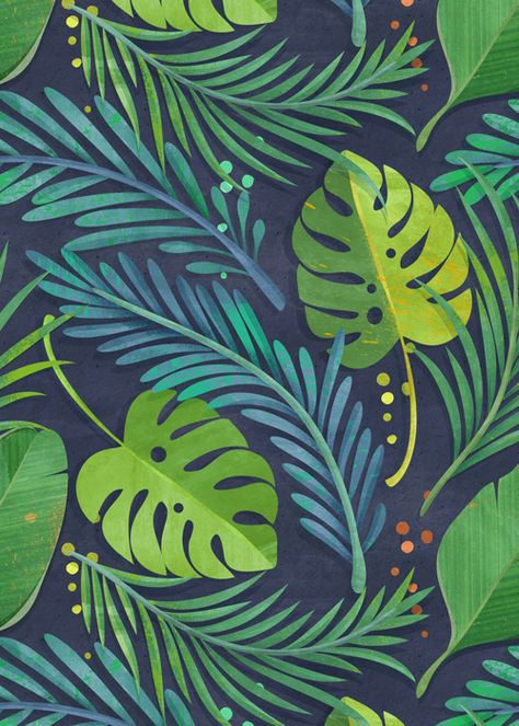 Tropical floral patterns I did a while ago following the trendy craze :)                                                                                                                                                                                 More                                                                                                                                                                                 More