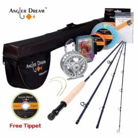 Angler Dream 8 4 Trout Fly Fishing Combo Fly Fishing Pole Fly Fishing Rods Fishing Kit