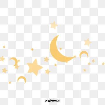 نجمة قمر هلال نجمة خماسية القمر والنجوم المرسومة السماء المرصعة بالنجوم القمر Png وملف Psd للتحميل مجانا Stars Five Pointed Star Moon