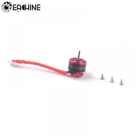 Original Eachine Trashcan 75mm Fpv Racing Drone Spare Part Tc0803 15000kv 1 2s Brushless Motor Fpv Racing Fpv Drone Racing Spare Parts