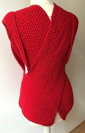 Weste stricken auch für Anfänger machbar | Weste stricken