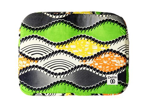 Purchasing Della lap top cases help provide jobs, education and skills training to women in west Africa.