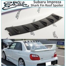 Subaru Impreza Shark Fin Rear Roof Window Spoiler Subaru Impreza Impreza Aftermarket Car Parts