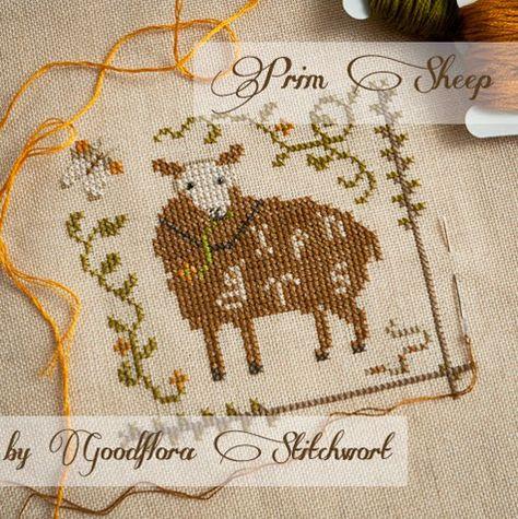 Click for Prim Sheep Freebie PDF Download