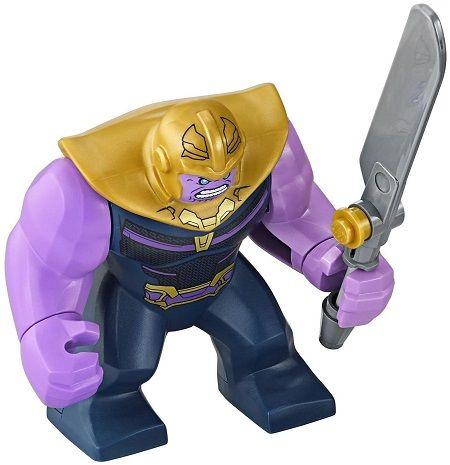 Marvel Purple Lego Moc Minifigure Big Fig Kids Gift Black Panther
