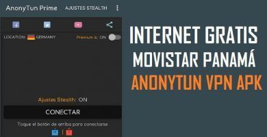 Internet Gratis Movistar Panama Android Anonytun 2019 Movistar