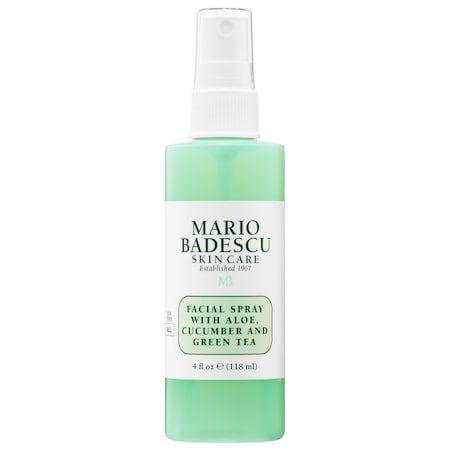 Facial Spray With Aloe Cucumber And Green Tea Mini Mario