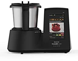 Taurus Mycook Touch Black Edition Robot De Cocina Wifi 1600w 2l Hasta 140 Grados Multifunción Más De 8000 Recetas Vaporera En 2020 Robot De Cocina Wifi Cestas