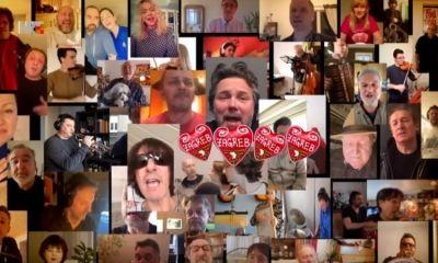 Video Croatian Celebrities Sing For The Earthquake Stricken Zagreb The Dubrovnik Times Zagreb Croatian Earthquake