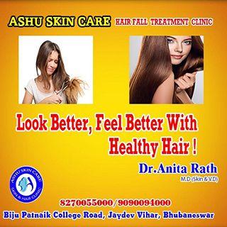 Ashu Skin Care Best Hair Restoration Clinic In Bhubaneswar Odisha India In 2020 Skin Care Clinic Skin Acne Treatment Hairfall Treatment