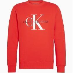 Calvin Klein Sweatshirt Mit Monogramm Logo S Calvin Klein In 2020 Calvin Klein Sweatshirt Sweatshirt Monogramm