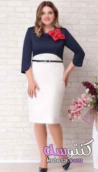 موديلات فساتين مقاسات كبيرة 2020 فساتين مقاسات كبيرة جدا ملابس خارجية مقاس كبير للمحجبات Fashion High Waisted Skirt High Waisted