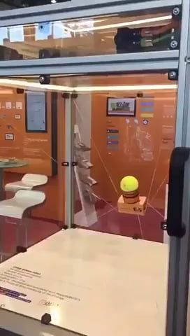 The Way This Machine Catches The Tennis Ball Funny Gif Funny Photoshop Funny Photoshop Pictures