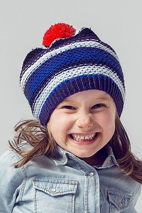 Kindermütze Mit Bommel