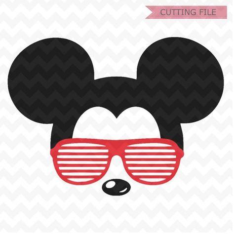 0ca069ece4 Mickey Mouse svg sunglasses
