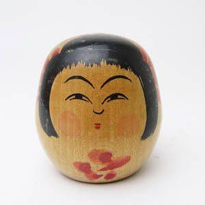 Reserved(18-1-13 S L)-Vintage Yamagata Small Hime-Daruma