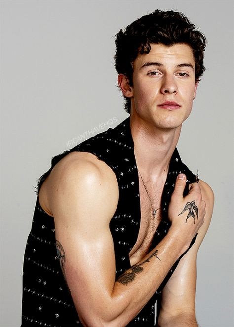 ificanthaveyous:Shawn Mendes for V Magazine outtakes (June 2019)