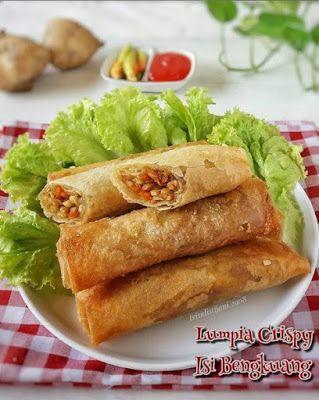 Lumpia Crispy Isi Bengkuang Lumpia Semarang Resep Masakan Masakan