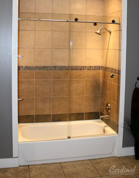 Shower And Tub Enclosure Ideas From With Images Bathroom