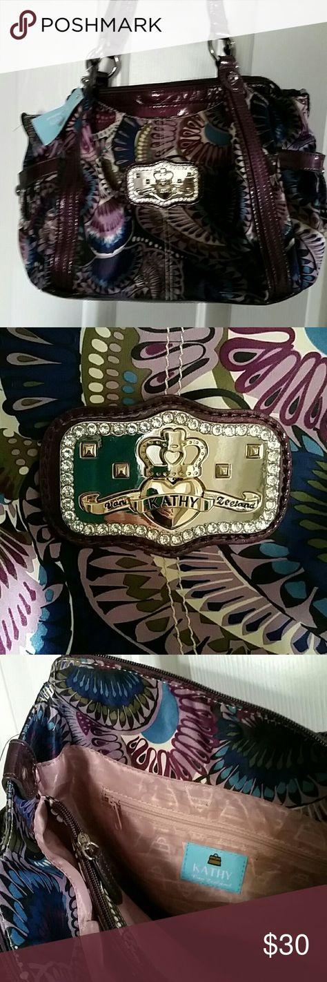 Selling this Handbag Kathy Van Zeeland Satchel NWT on Poshmark! My username is: tamramk. #shopmycloset #poshmark #fashion #shopping #style #forsale #Kathy Van Zeeland #Handbags