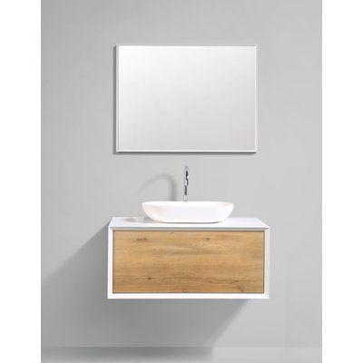 Orren Ellis Grissett 35 Wall Mounted Single Bathroom Vanity Set Bathroom Vanity Bathroom Interior Design