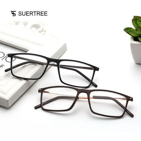 4b3bcebcc7 SUERTREE Reading Glasses Women Men 2018 New Vintage Prescription Glasses  Retro Ultralight HD 1.0 1.5 2.0 2.5 3.0 3.5 BM501