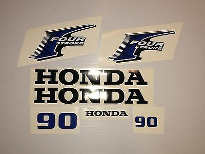 USA free fast shipping fourstroke Honda 90hp 4-Stroke Outboard Decal Kit