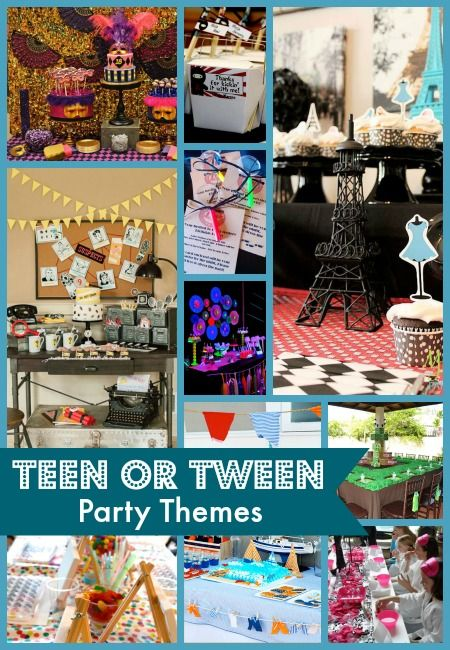 Pin On Teen Party Ideas